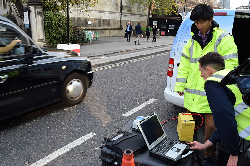 The Real Urban Emissions initiative (TRUE) begins roadside testing of London's cars