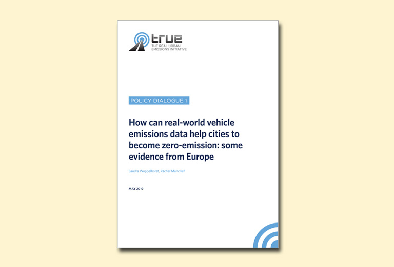 How can real-world vehicle emissions data help cities to become zero-emission: some evidence from Europe